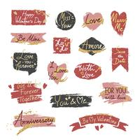 Dulce romántico mensaje de San Valentín