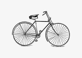 Fahrrad-Vintage-Design