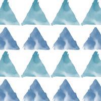Vector de fondo acuarela azul verde pastel