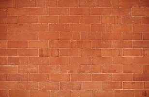 Mur de briques rouges avec espace design