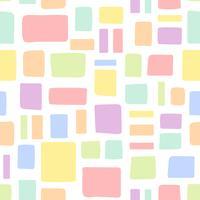Naadloze kleurrijke bakstenen patroon vector