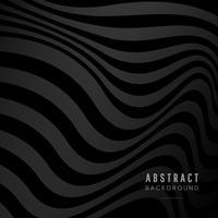 Dessin abstrait noir