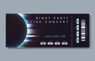 Live konsertbiljett