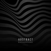 Black abstract background design vector
