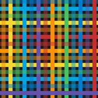 Seamless colorful plaid pattern vector
