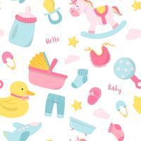 Cute baby nursery decoration
