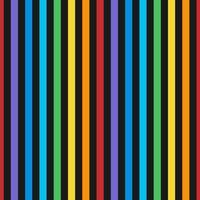 Naadloze kleurrijke verticale lijnen patroon vector