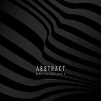 Vecteur de conception fond abstrait noir