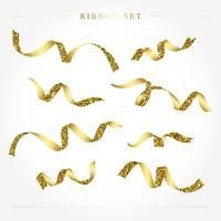 Conjunto de cinta de oro