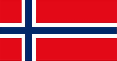 Illustration of Norway flag