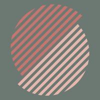 Aardetinten Zwitserse grafische illustratie