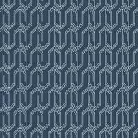Minimaal indigo gebatikte geometrisch patroon