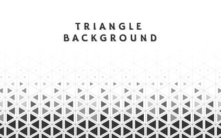 Ilustração de padrão geométrico triângulo