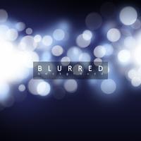 Blauer Bokeh-Hintergrund