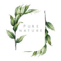 Plant logo ontwerp