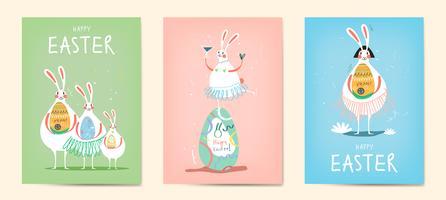 Colección de ilustración de celebración de Pascua