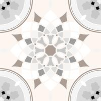 Floor tile pattern design