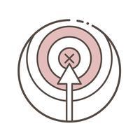 Illustration der Vektorlinie Sammlung