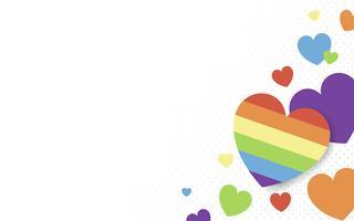 Hjärta bakgrunds illustration