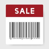 Sale barcode illustration