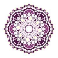 Mandala púrpura hindú