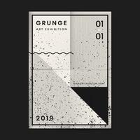 Grunge distressed texturaffisch