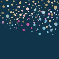 Färgglada konfetti firande design