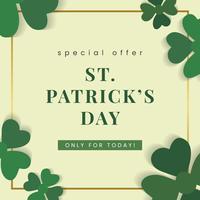 Deal for St Patricks Day
