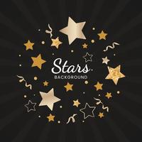 Stars background illustration