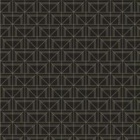 Mínimo padrão geométrico preto e dourado