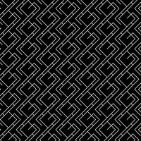 Minimal geometric pattern in black and white