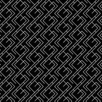 Minimalt geometriskt mönster i svart och vitt