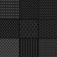 Collezione di motivi geometrici minimali