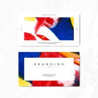Carta di branding artistico