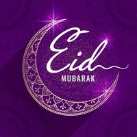 Illustrazione celebrativa di Eid Mubarak
