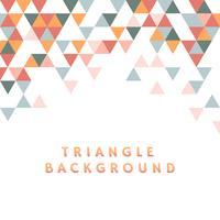 Ilustração de padrão de triângulo colorido