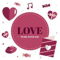 Valentinstag Herz Grafik