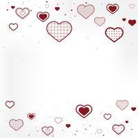 Illustrazione della priorità bassa di San Valentino