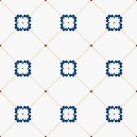 Illustration of tiles textured pattern vector