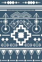 Illustration of ethnic pattern
