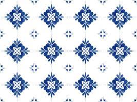 Ilustração, de, azulejos, textured, padrão vetor