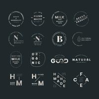 Ensembles de logo de marque