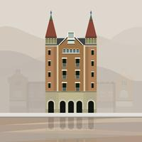 Ilustração de Casa de les Punxes