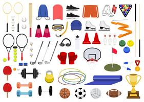 Collection of various sport icon illustration