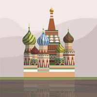 Illustration of Saint Basil's Cathedral