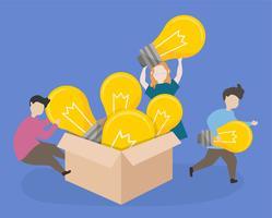 Studenten brengen creatieve ideeën naar de klas