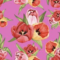 Fondo floral brillante