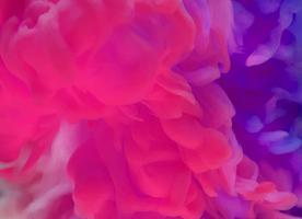 Lila och rosa färg i vatten