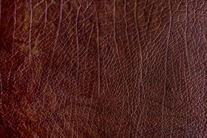 Bruine ruwe leer geweven achtergrond