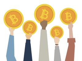 Bitcoins e moeda digital